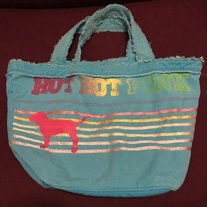 VS Pink Distressed Bag